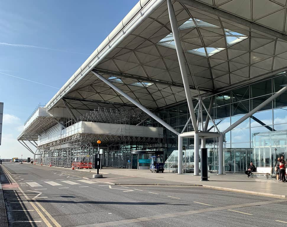 Airport Scaffolding 1