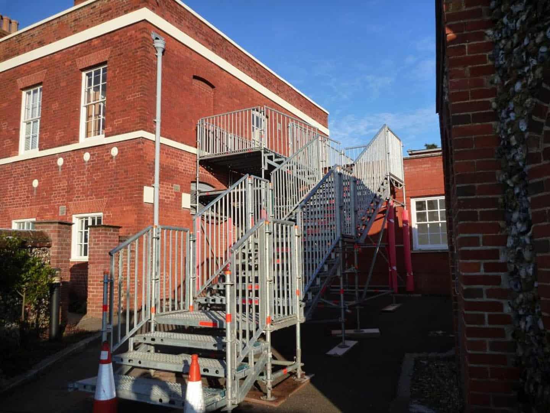 Public Access Bridges Staircase 5