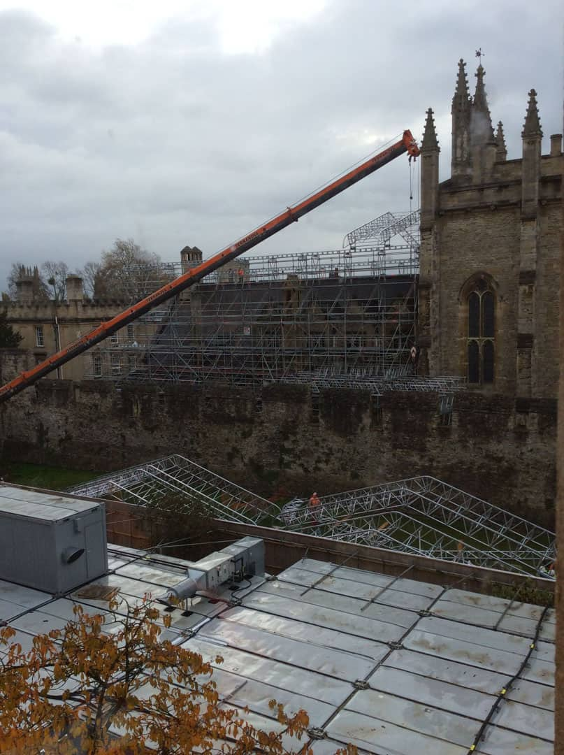 Temporary Roof Systems 3