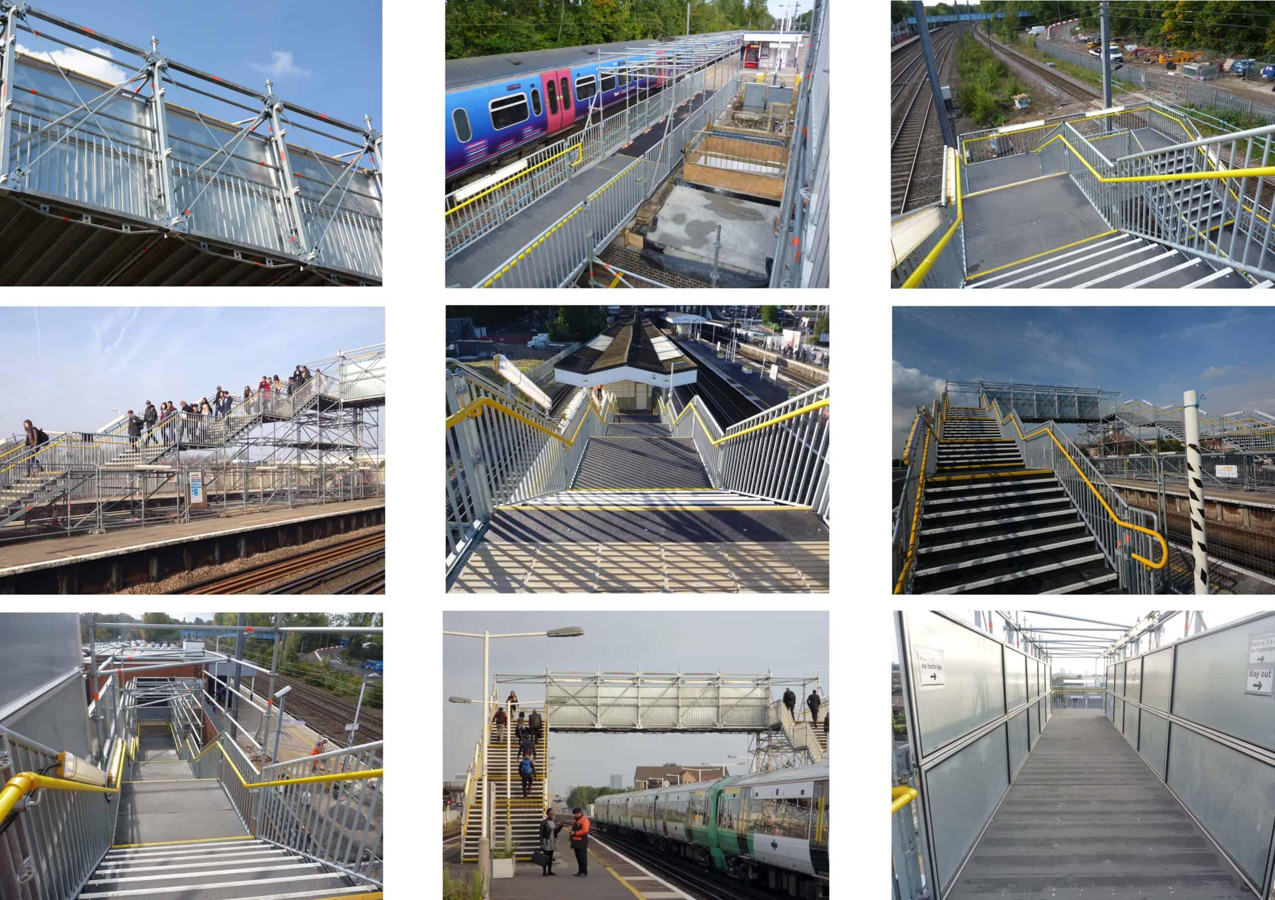 Network Rail Bridges Staircases